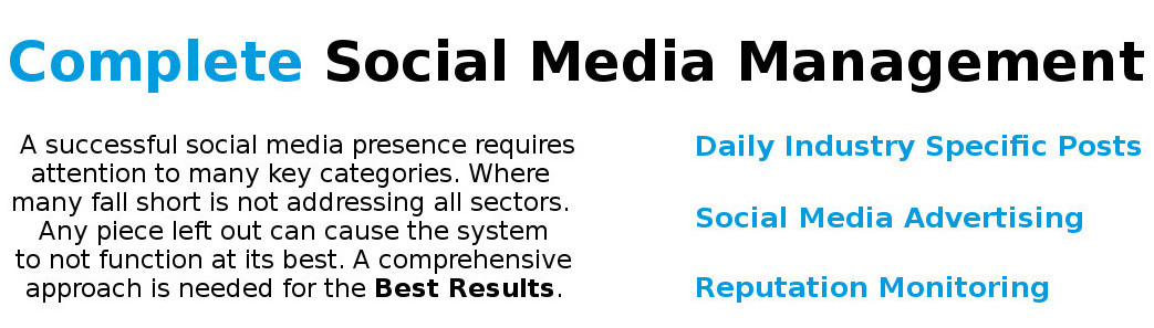 complete social media management