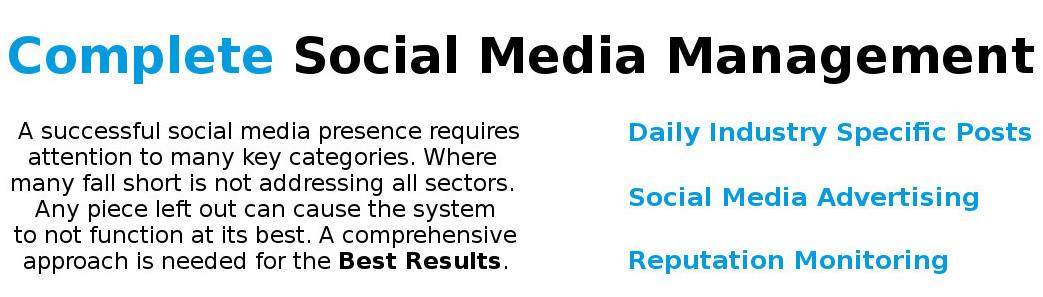 complete social media management