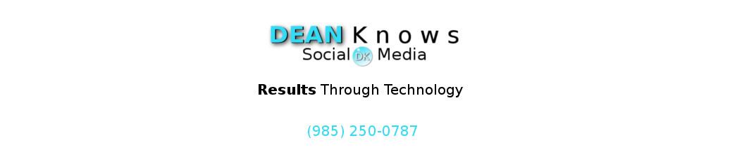 DEAN Knows Social Media